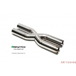 Ferrari F12 Berlinetta 6.3 V12 (2012-) - Titanium X-pipe