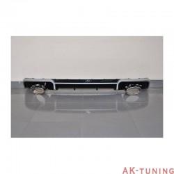 bakre diffuser AUDI A3 SPORTBACK 2013-2015 LOOK RS3 ABS