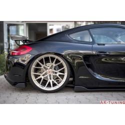 Bakre sidosplitters - Porsche Cayman 981C