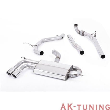 "Audi A3 2.0 TDI 140hk 2WD 3-dörrars non-DPF Turbo-back - Polished ändrör 2,75"""