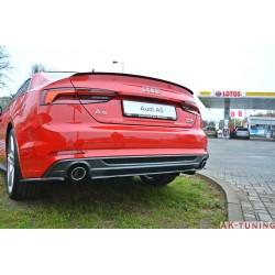Bakre diffuser splitter (med vertikala bars) - Audi A5 B9 S-line