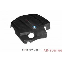 BMW N55 - Svart Kolfiber Engine Cover - Eventuri