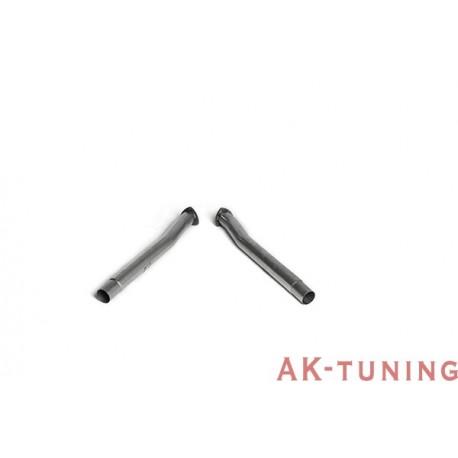 """Audi RS3 Sportback (8V MQB) Ersättningsrör för bakre katalysatorer - 3"""""""