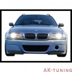 Frontstötfångare BMW E46 98-05, 2 OR 4-Dörrars WITH Kolfiber TIPS LOOK CSL