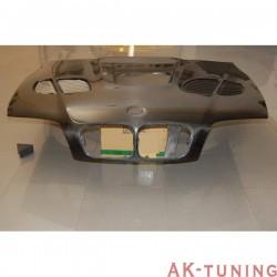 Kolfiber huv BMW E46 98-01 2 DOOR LOOK M3 GTR