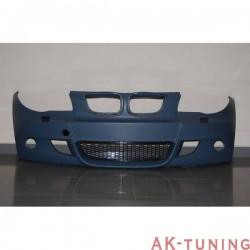 Frontstötfångare BMW E87 / E82 / E81 / E88 2005-2011, 3 eller 5-Dörrars LOOK M WASHER