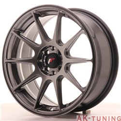 Japan Racing JR11 17x7.25 ET25 4x100/108 Hiper Blk
