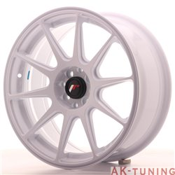 Japan Racing JR11 17x7.25 ET25 4x100/108 White