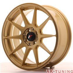Japan Racing JR11 17x7.25 ET35 4x100/114.3 Gold