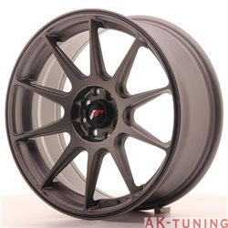 Japan Racing JR11 17x7.25 ET35 5x100/114.3 Matt GM