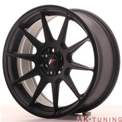 Japan Racing JR11 17x7.25 ET35 5x112/114.3 MattBlk