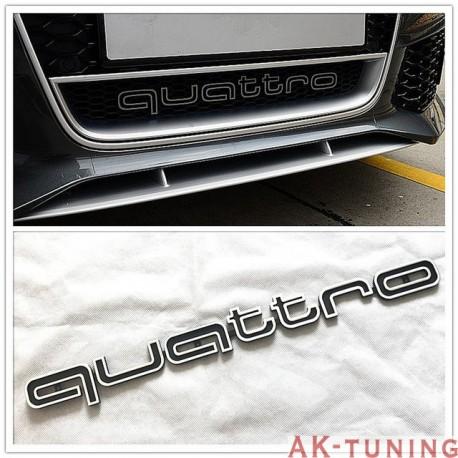 Quattro emblem till grill - Audi   AK-quattro-emblem