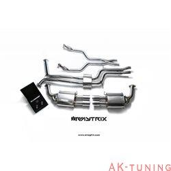 Audi A6 C7 3.0 TFSI Sedan/Avant (2011-) - Front Y-rör + Link-pipe + Mittenrör med resonator (dämpad) + Valvetronic ljuddämpare