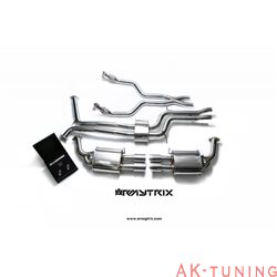 Audi A7 C7 3.0 TFSI Sportback (2012-) - Front Y-rör + Link-pipe + Mittenrör med resonator (dämpad) + Valvetronic ljuddämpare