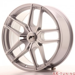 Japan Racing JR25 19x8,5 ET20-40 5H Blank Silver | JR2519855X2074SM