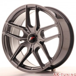 Japan Racing JR25 19x8,5 ET40 5H Blank Hiper Black | JR2519855X4074HB