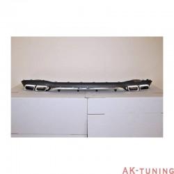 Bakre diffuser MERCEDES E-class W213 AMG abs | AK-TCM0129