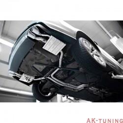 Audi S7 4.0TFSi C7 - Capristo Cat-Back med aktiva avgasventiler