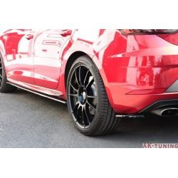 Bakre sidosplitters v2 Seat Leon Mk3 Cupra Facelift