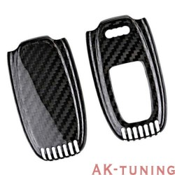 Kolfiber kåpa/skal till Audi nyckel (A4, A5, A6, A7, A8 samt S & RS modeller) | AK-TCARB-Audi1