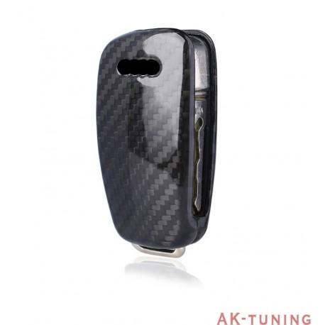Kolfiber kåpa/skal till Audi nyckel (A1, A3, A6, Q3, TT, samt S & RS modeller) | AK-TCARB-Audi2