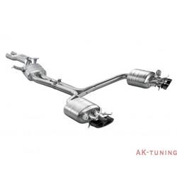 Audi RS5 B8 - Akrapovic Evolution System i Titan med kolfiber utblås