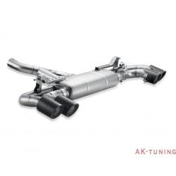 Porsche Cayenne (958) Turbo 2010 - 2014 - Akrapovic Slip-On Line + Link pipe i titan med kolfiber utblås