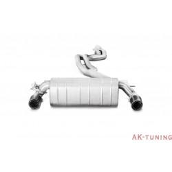 BMW 140i (F20/F21) 2016 - Akrapovic Evolution System, Rostfritt med link pipe, Kolfiberslutrör