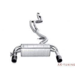 BMW 435i (F32/F33/F36/F82/F83) 2014-2015 - Akrapovic Evolution System, Rostfritt med link pipe, Kolfiberslutrör