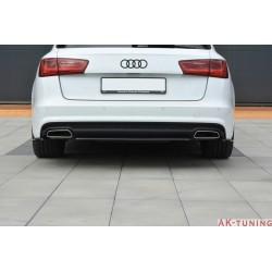 Bakre diffuser splitter - Audi A6 C7.5 Facelift   AK-AU-A6-C7F-SLINE-AV-RD1