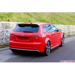 Sidokjol diffuser - Audi RS3 8P