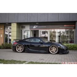 Sidokjol splitter - Porsche Cayman 981C | AK-PO-CA-981-FSD1