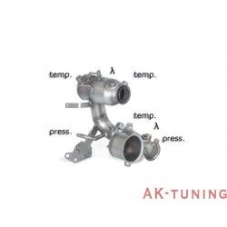 Audi A3 (8V) - Quattro 2.0TDi (184hk) 2013 - - Katalysator group n + rostfritt partikelfilter ersättningsrör group n. kräver