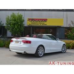 Audi A5 (B8) - Cabrio 2.7TDi V6 (190hk) 2009 - 2011 - Rostfritt mitten rör | R-55.0453.00