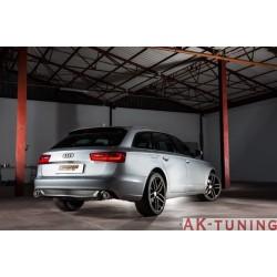 Audi A6 (4G/C7) - 2.0TDi (177hk) 2011 - 2014 - Rostfritt mitten rör group N