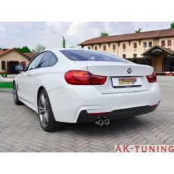 BMW - F32(Coupè) 420D - 420D xDrive (184hk) 2013 - 2015 - Rostfritt katalysator ersättningsrör + partikelfilter ersättningsrör