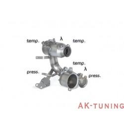 Volkswagen Golf Mk7 - 1.6TDi (90hk/110hk) 2013 - - Katalysator group n + rostfritt partikelfilter ersättningsrör group n\r k...