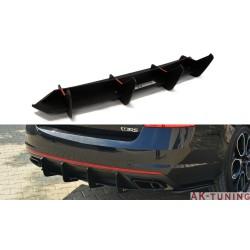 bakre diffuser splitter - SKODA OCTAVIA III RS | AK-SK-OC-3-RS-CNC-RS1