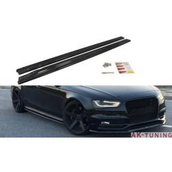 Sidokjol splitters - Audi S4 B8
