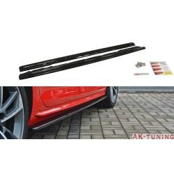 Sidokjol splitter - Audi A4 B9 S-line