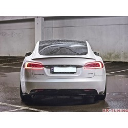 Bakre diffuser splitter - Tesla Model S Facelift | AK-TE-MODELS-1F-RS1