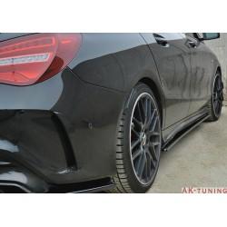 Sidokjol splitters - Mercedes CLA45 AMG C117 Facelift