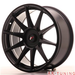 Japan Racing JR11 19x8.5 ET25-40 Blank Matt Black