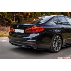 Bakre diffuser splitter - BMW 5-Serien G30 (M-paket) | AK-BM-5-G30-MPACK-RD1