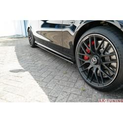 Sidokjol splitter - Mercedes C63 AMG Kombi W205