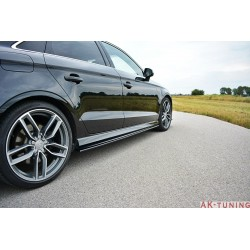 Sidokjol splitter - Audi S3 8V Facelift
