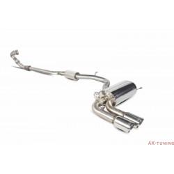 Audi RS3 8P - Turbo-back system med racekatalysator - Daytona ändrör - Scorpion
