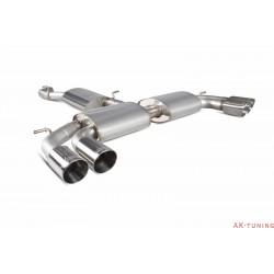 Audi S3 2.0T 8V 3 Dörrars & Sportback - Cat-back (resonated) utan avgasspjäll - Daytona ändrör - Scorpion | SAU050D