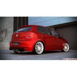 Bakre diffuser VW Polo mk5