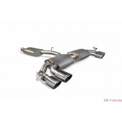 Audi TT S Mk3 - Reasonated cat-back (with valves) - EVO ändrör - Scorpion